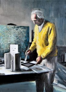 Obra Max Ernst - Serie Artistudios - Artista pintor Antonio Morales Prats