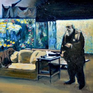 Detalle Estudio Monet - Serie Artistudios - Artista pintor Antonio Morales Prats