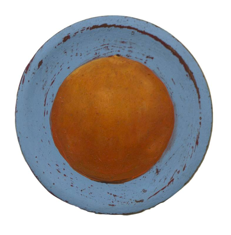 Obra Naranja - Serie Cocina de Autor - Artista pintor Antonio Morales Prats