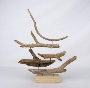 Obra Naturaleza IX - Escultura - Proyecto Kryptos Natura Plantae - Artista Antonio Morales Prats