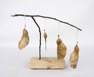 Obra Naturaleza V - Escultura - Proyecto Kryptos Natura Plantae - Artista Antonio Morales Prats