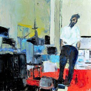Estudio Nicolas de Stäel - Serie Artistudios - Artista pintor Antonio Morales Prats