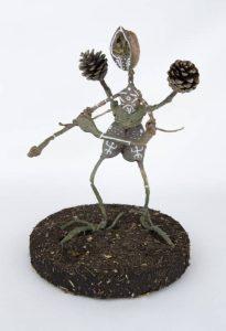 Obra Nogalín - Escultura - Artista Antonio Morales Prats - Proyecto Kryptos Natura Críptidos