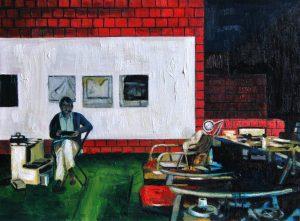 Estudio Oscar Diebenkorn - Serie Artistudios - Artista pintor Antonio Morales Prats