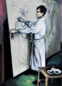 Estudio Otto Dix - Serie Artistudios - Artista pintor Antonio Morales Prats