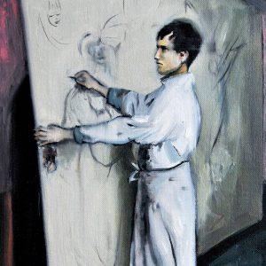 Detalle Estudio Otto Dix - Serie Artistudios - Artista pintor Antonio Morales Prats