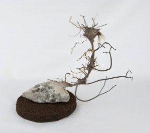 Obra Petrófilo - Escultura - Artista Antonio Morales Prats - Proyecto Kryptos Natura Críptidos