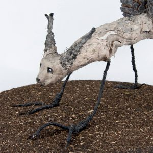 Obra Piñorro - Escultura - Artista Antonio Morales Prats - Proyecto Kryptos Natura Críptidos