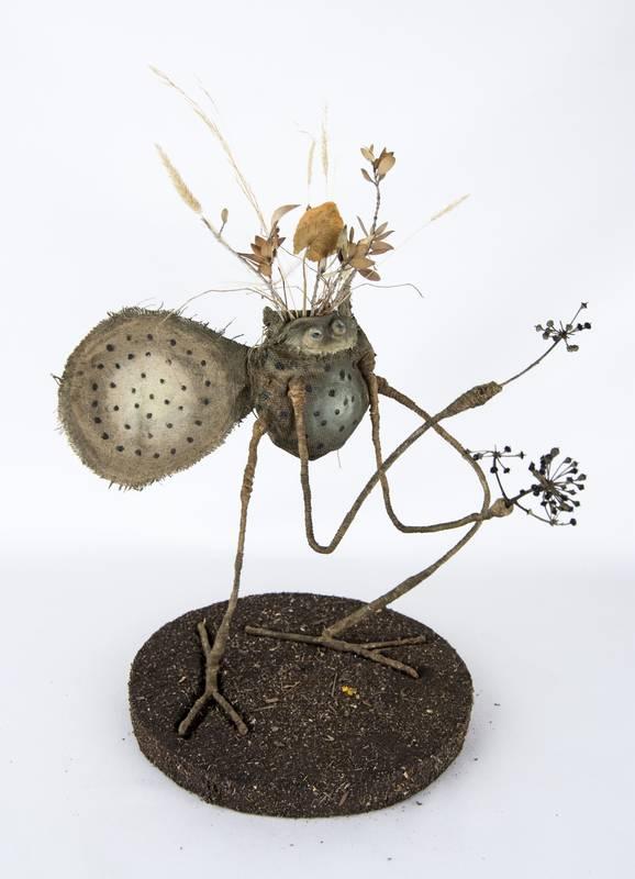 Obra Polirbillo - Escultura - Artista Antonio Morales Prats - Proyecto Kryptos Natura Críptidos