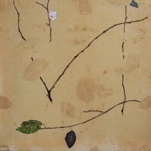 Obra Prunus cerasifera - Pintura - Pintor Antonio Morales Prats - Proyecto Kryptos Natura Stationalis
