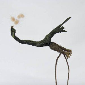 Obra Ramicudo - Escultura - Artista Antonio Morales Prats - Proyecto Kryptos Natura Críptidos