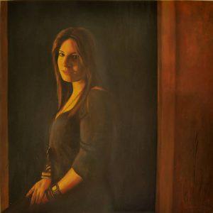 Obra Retrato Calíope - Serie A nosotros - Artista pintor Antonio Morales Prats