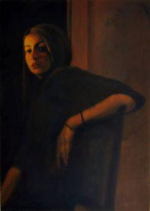 Obra Retrato Erato - Serie A nosotros - Artista pintor Antonio Morales Prats