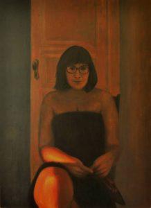 Obra Retrato Talía - Serie A nosotros - Artista pintor Antonio Morales Prats