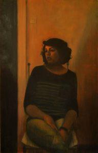 Obra Retrato Urania - Serie A nosotros - Artista pintor Antonio Morales Prats