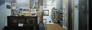Estudio Richard Long - Serie Artistudios - Artista pintor Antonio Morales Prats