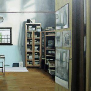 Detalle Estudio Richard Long - Serie Artistudios - Artista pintor Antonio Morales Prats