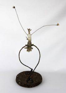 Obra Saltiña - Escultura - Artista Antonio Morales Prats - Proyecto Kryptos Natura Críptidos