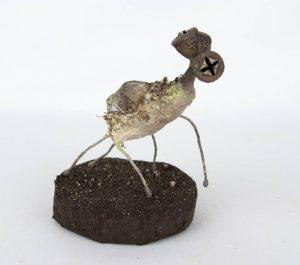 Obra Trióculo - Escultura - Artista Antonio Morales Prats - Proyecto Kryptos Natura Críptidos