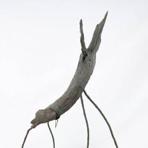 Obra Troncotauro - Escultura - Artista Antonio Morales Prats - Proyecto Kryptos Natura Críptidos