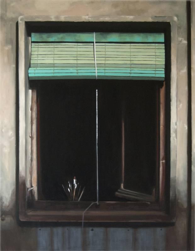 Obra Ventana estudio - Serie A nosotros - Artista pintor Antonio Morales Prats